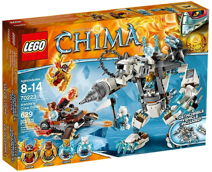 LEGO Chima 70223 Icebite's Claw Driller - Toysnbricks