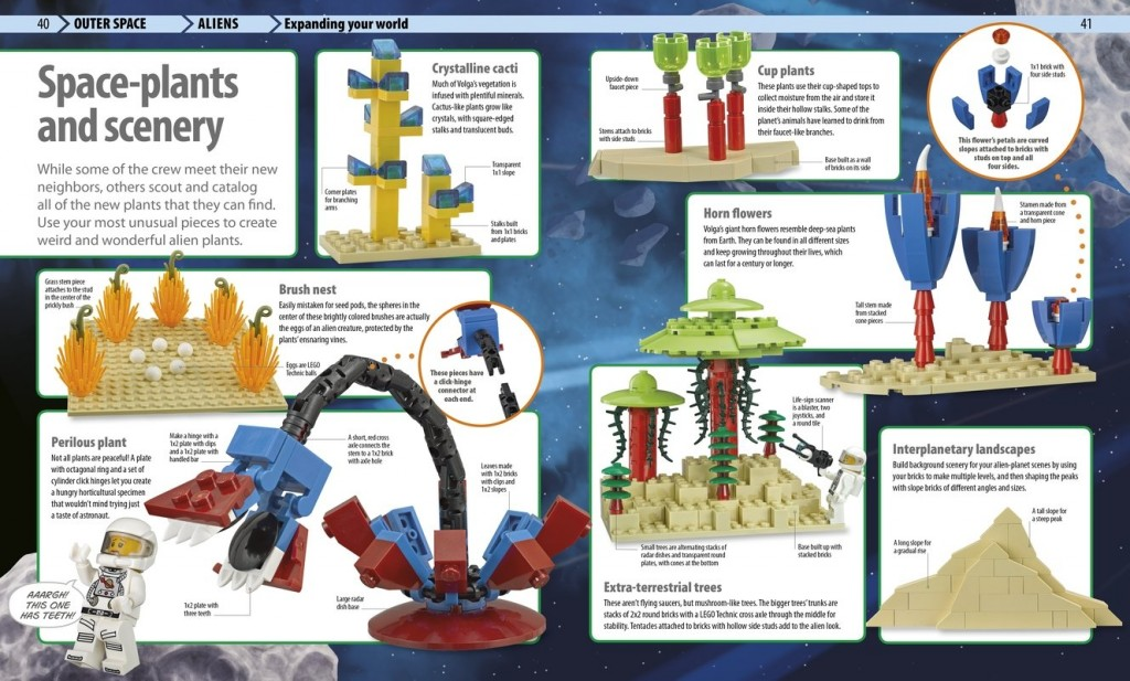 LEGO DK Awesome Ideas Book Builds
