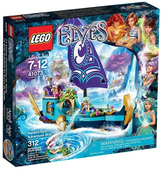 LEGO Elves 41073 Naida's Epic Adventure Ship - Toysnbricks