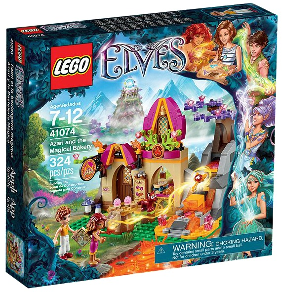 LEGO Elves 41074 Azari and the Magical Bakery - Toysnbricks