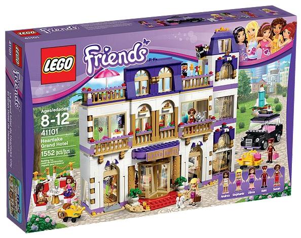 LEGO Friends 41101 Heartlake Grand Hotel - Toysnbricks