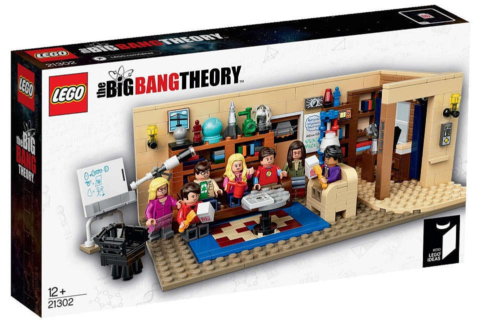 LEGO Ideas Big Bang Theory 21302 - Toysnbricks
