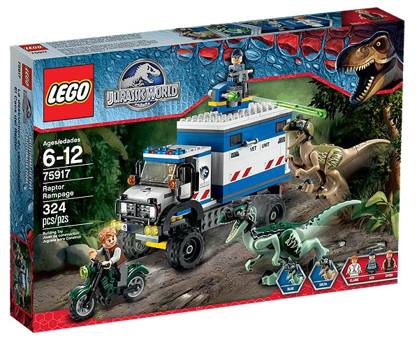 LEGO Jurassic World 75917 Raptor Rampage - Toysnbricks
