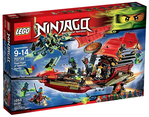 LEGO Ninjago 70738 Final Flight of Destiny's Bounty - Toysnbricks
