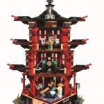 LEGO Ninjago 70751 Temple of Airjitzu Back (High Resolution)