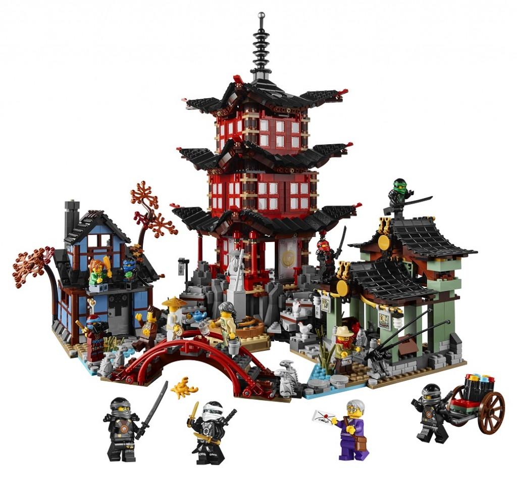 LEGO Ninjago 70751 Temple of Airjitzu (High Resolution)
