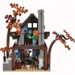 LEGO Ninjago 70751 Temple of Airjitzu House with Trees (High Resolution)