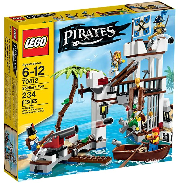 LEGO Pirates 70412 Soldiers Fort - Toysnbricks