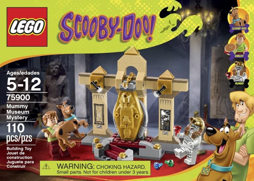 LEGO Scooby-Doo 75900 Mummy Museum Mystery - Toysnbricks