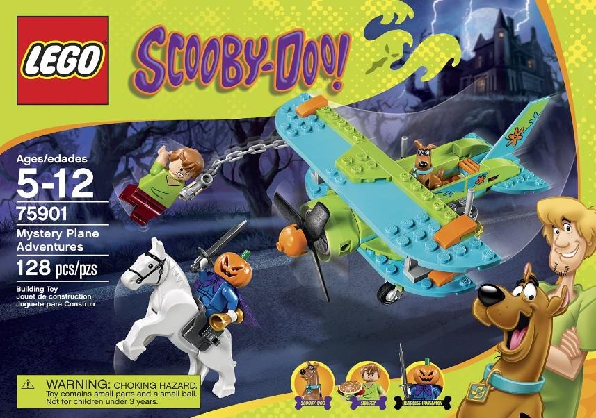 LEGO Scooby-Doo 75901 Mystery Plane Adventures - Toysnbricks