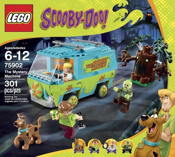 LEGO Scooby-Doo 75902 The Mystery Machine - Toysnbricks