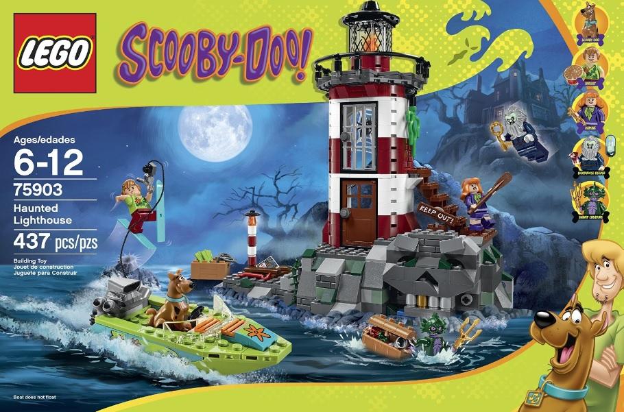 LEGO Scooby-Doo 75903 Haunted Lighthouse - Toysnbricks