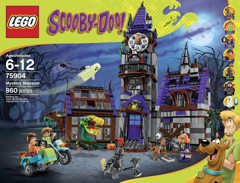 LEGO Scooby-Doo 75904 Mystery Mansion - Toysnbricks