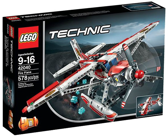 LEGO Technic 42040 Fire Plane - Toysnbricks