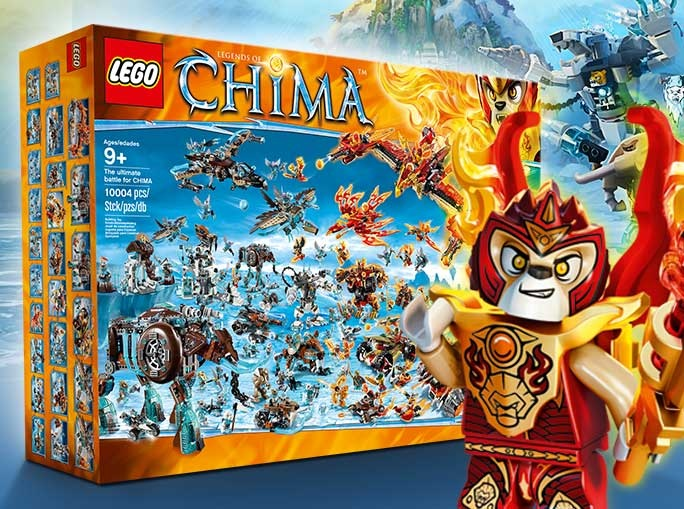 LEGO The Ultimate Battle for Chima Set 10004 pieces (US Contest October 2015) - Toysnbricks