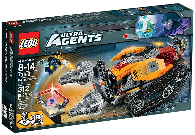 LEGO Ultra Agents 70168 Drillex Diamond Job - Toysnbricks