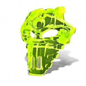 SDCC 2015 LEGO BIONICLE Skull Scorpio Mask