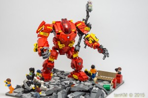 Toysnbricks 2015 LEGO Avengers Contest Damaged by tankm