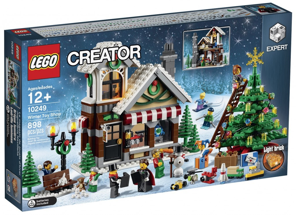 LEGO 10249 Winter Toy Shop Creator (High Resolution) - Toysnbricks