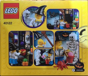 LEGO 40122 Halloween Trick or Treat 2015 Set Back Box