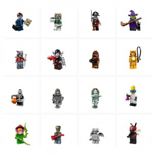 LEGO 71010 Series 14 Minifigures Official Picture - Toysnbricks