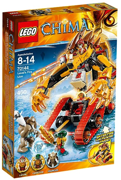 LEGO Chima Laval's Fire Lion 70144 - Toysnbricks