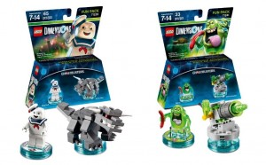LEGO Ghostbusters 71233 71241 Fun Pack Dimensions