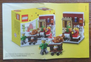 LEGO Halloween Thanksgiving Fall 40123 Seasonal 2015 Set