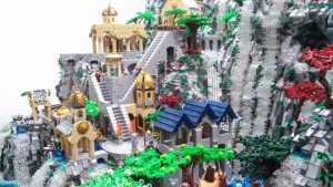 LEGO Ideas The Hobbit-Rivendell fishingtwister Potential Set 2015