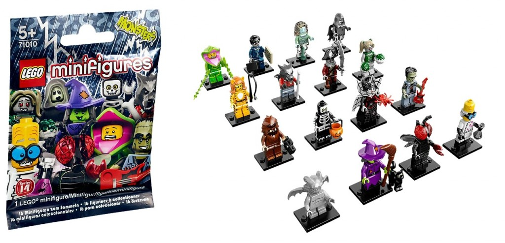 LEGO Minifigures Series 14 Monsters Collectable 71010 - Toysnbricks