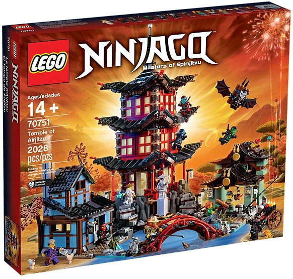 LEGO Ninjago 70751 Temple of Airjitzu - Toysnbricks