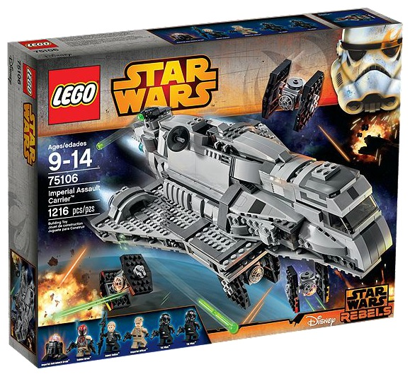 LEGO Star Wars Imperial Assault Carrier 75106 - Toysnbricks