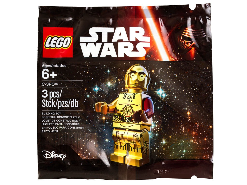 5002948 C-3PO LEGO Star Wars The Force Awakens Minifigure (Pre)