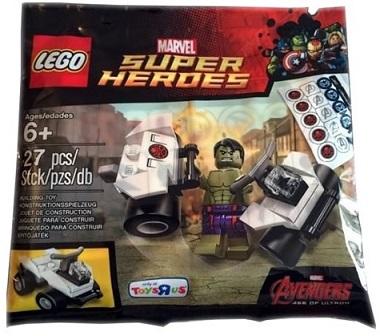Review: LEGO 5003084 – Minifigure Hulk Polybag (2015)