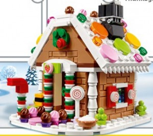 LEGO 40139 Gingerbread House 2015 Limited Edition Set