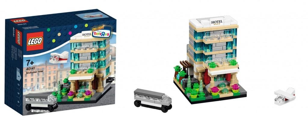 LEGO 40141 Bricktober Hotel ToysRUs 2015 Promo Set - Toysnbricks