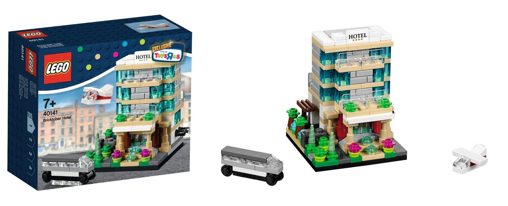 lego 40141 bricktober hotel toysrus 2015 promo set toysnbricks