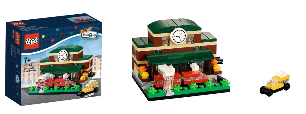 LEGO 40142 Bricktober Train Station 2015 ToysRUs Promo Set - Toysnbricks