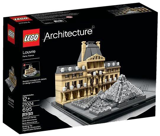 LEGO Architecture 21024 Louvre - Toysnbricks