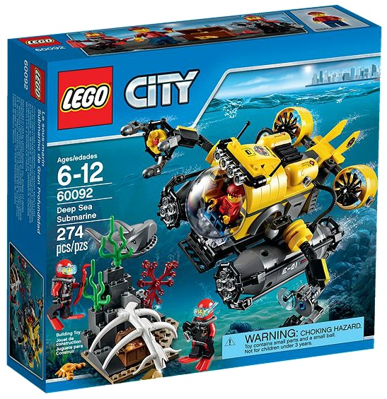 LEGO City 60092 Deep Sea Submarine - Toysnbricks