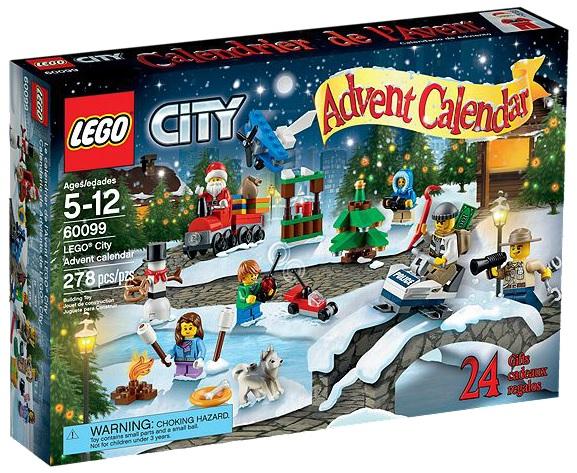 LEGO City 60099 Advent Calendar 2015 - Toysnbricks