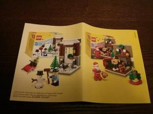 LEGO Creator Seasonal 40124 Winter Fun and 40125 Seasonal Santa's Visit Sets (Pre)