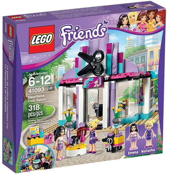 LEGO Friends 41093 Heartlake Hair Salon - Toysnbricks