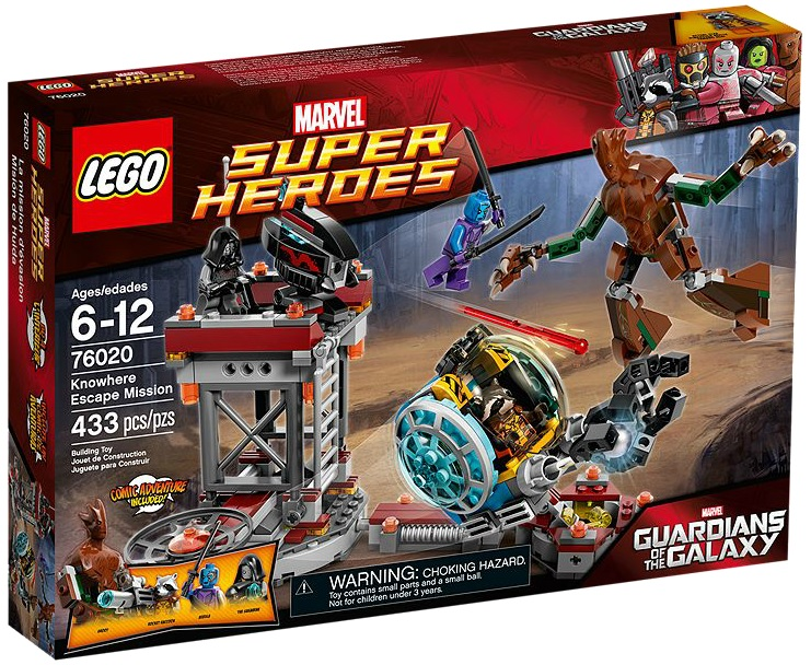 LEGO Marvel Super Heroes 76020 Knowhere Escape Mission - Toysnbricks