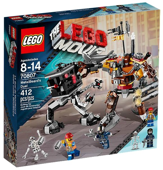 LEGO Movie 70807 MetalBeard's Duel - Toysnbricks