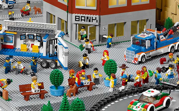 LEGO Panorama City Scene