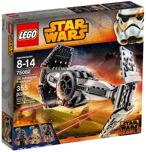LEGO Star Wars 75082 TIE Advanced Prototype - Toysnbricks