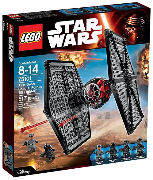 LEGO Star Wars 75101 First Order Special Forces TIE Fighter - Toysnbricks