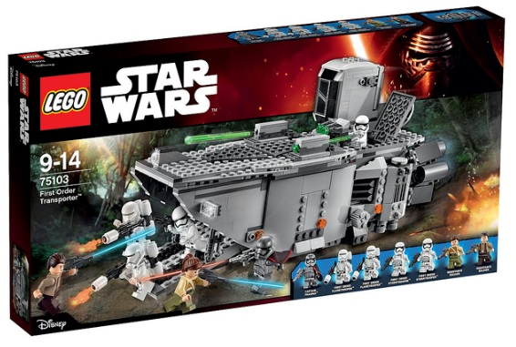 LEGO Star Wars 75103 First Order Transporter - Toysnbricks