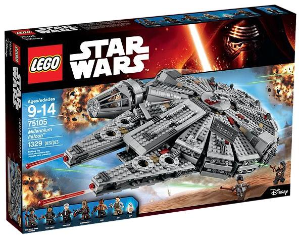 LEGO Star Wars 75105 Millennium Falcon - Toysnbricks
